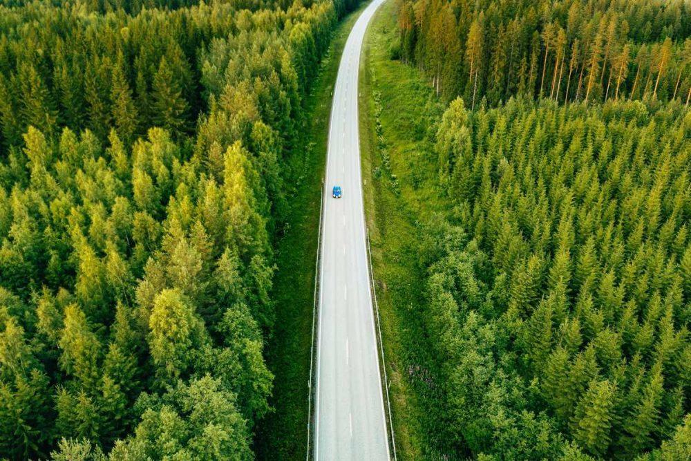 strada ecosostenibile